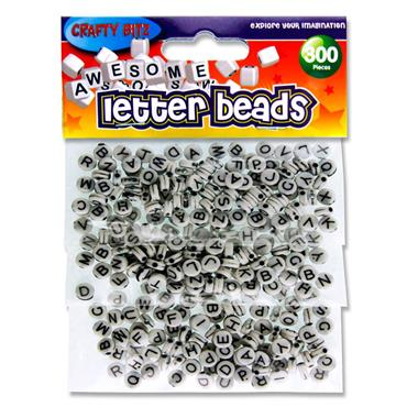Crafty Bitz Pkt.300 Letter Beads