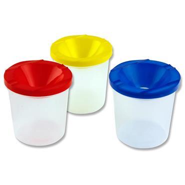 Woc Set 3 Non Drip Paint & Water Pots