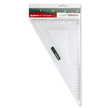 Student Solutions 32cm 60* Set Square