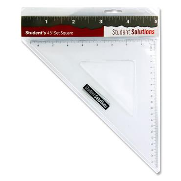 Student Solutions 32cm 45* Set Square
