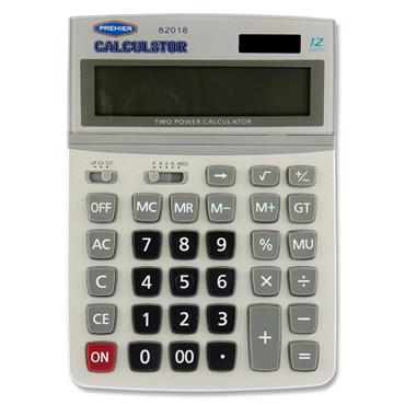 Calcul8tor Cd-2637 12 Digit Desktop Calculator