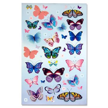 Crafty Bitz Book 300+ Stickers - Butterfly