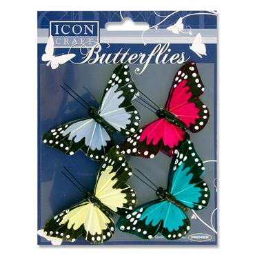 Icon Craft Card 4 Butterfly Embellishments