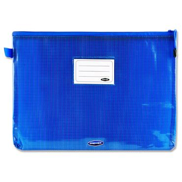 Premto A4+ Extra Durable Mesh Wallet - Printer Blue