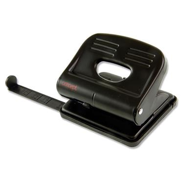Concept 2 Hole Metal Paper Punch With Guide