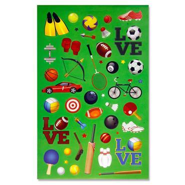 Emotionery 290+ Sticker Book - Sports