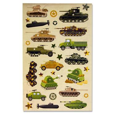 Emotionery 250+ Sticker Book - Military