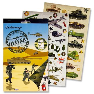 Emotionery 250+ Sticker Book - Military