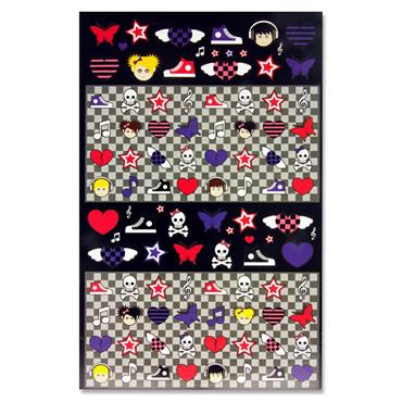 Emotionery 300+ Sticker Book - Rock Chick