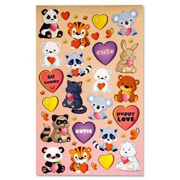 Emotionery 300+ Sticker Book - Furry Friends