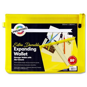 Premto A4+ Extra Durable Mesh Wallet - Sunshine