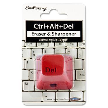 Emotionery Ctrl+alt+delete Eraser & Sharpener