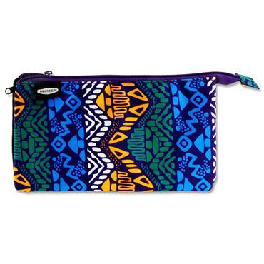 Premier 3 Pocket Flat Pencil Case - Tribal