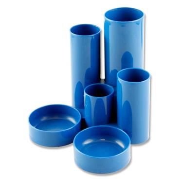 Tube Desk Tidy - Blue