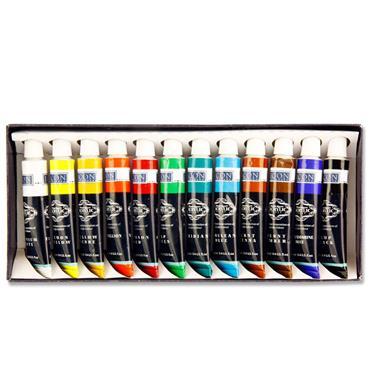 Icon Box 12x12ml Acrylic Paints