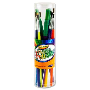WOC TUBE OF 11 ASST PAINT BRUSHES