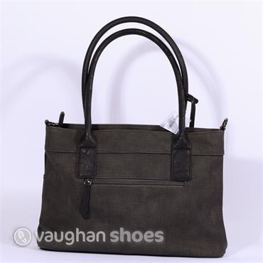 Rieker Shoulder Bag With Shimmer Detail - Grey