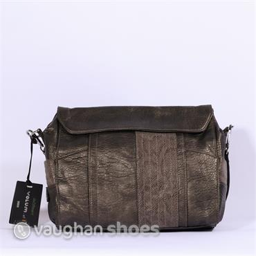 Volum Flap Bag - Bronze
