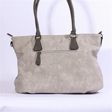 Rieker Shopper Bag Glitz Detail - Grey/glitter