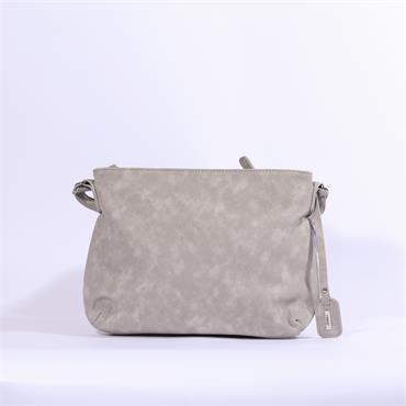 Rieker Messenger Bag  Print Detail - Grey