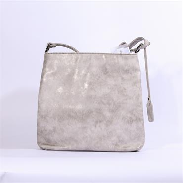 Rieker Crossbody Flower Pattern Bag - Silver Multi