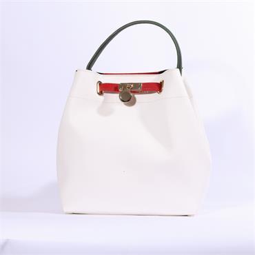 Marco Tozzi Bucket Bag - White Combi