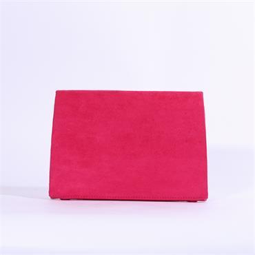 Una Healy Fling - Pink Suede Combi