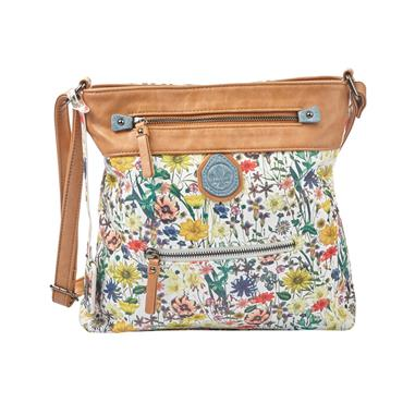 Rieker Crossover Bag - Tan Multi