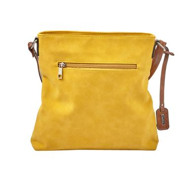 Rieker Crossbody Beaded Strip Bag - Yellow