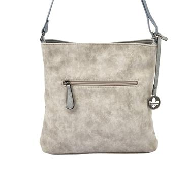 Rieker Crossbody Zip Front - Grey Blue Combi