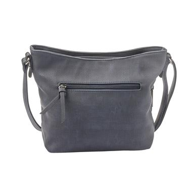 Rieker Messenger Bag Stripe Detail - Navy