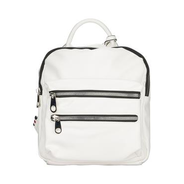 Remonte Backpack Zip Detail - White