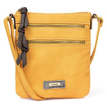 Rieker Small Crossbody Zip Detail - Yellow