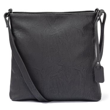 RIEKER CROSSBODY ZIP DETAIL - Black Combi
