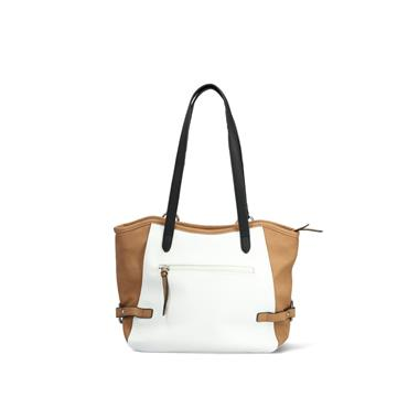 Rieker City Shopper - White Tan Orange