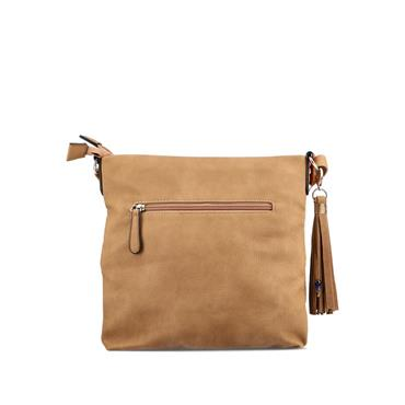 Rieker Crossbody Bag - Tan White