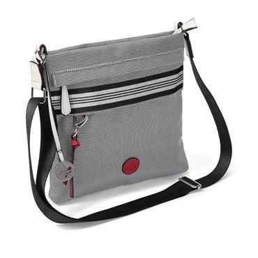 Rieker Crossbody Bag - Silver