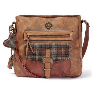 Rieker Shoulder Bag - Tan Combi