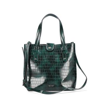 Rieker Top Handle Bag And Shoulder Strap - Green
