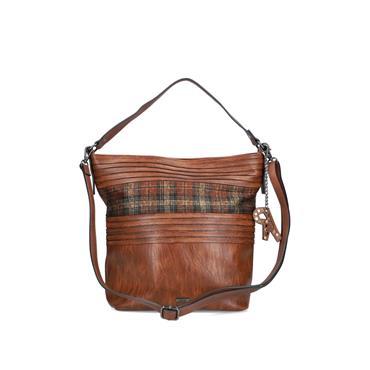 Rieker Shopper Bag - Tan Combi