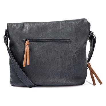 Rieker Flap Bag - Navy Combi
