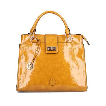 Rieker Shopper Bag - Honey Patent