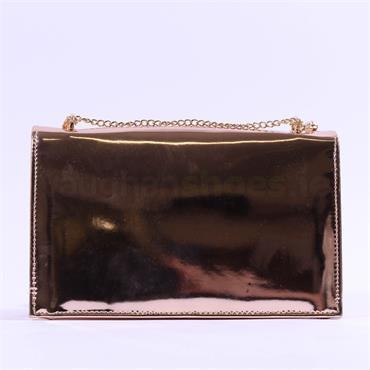 Millie & Co Blossom Clutch Handbag - Rose Gold