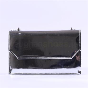 Millie & Co Blossom Clutch Handbag - Chrome