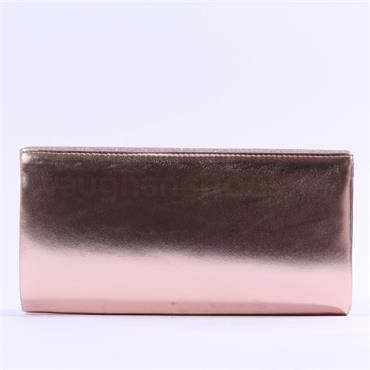 Glamour Sadie Glitter Clutch Bag - Gold Shimmer