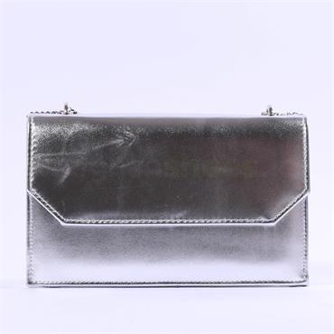 Glamour Clara Clutch Bag - Silver