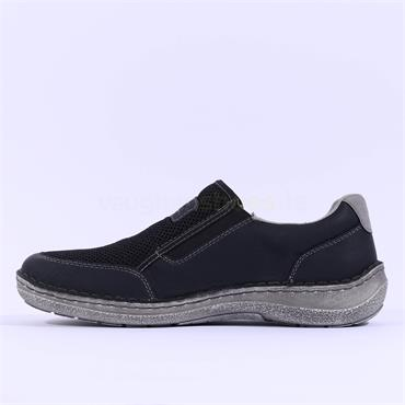 Rieker Men Sergio Slip On Shoe - Navy