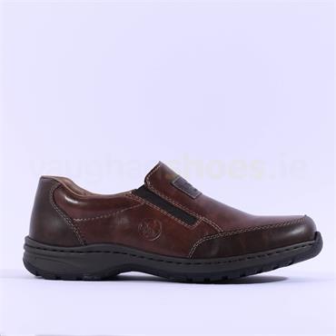 Rieker Hudson Slip On Shoe - Brown