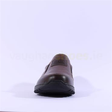 Rieker Hudson Slip On Shoe - Brown
