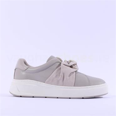 Tamaris Milania Slip On Platform Trainer - Light Grey